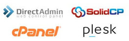 DirectAdmin / Solid Control / Plesk / cPanel